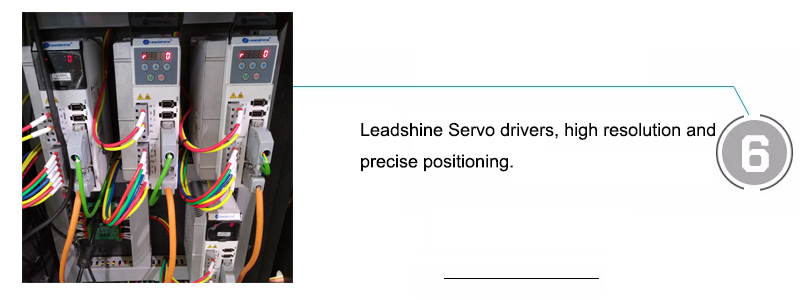 Leadshine Servo drivers, high resolution and precise positioning.