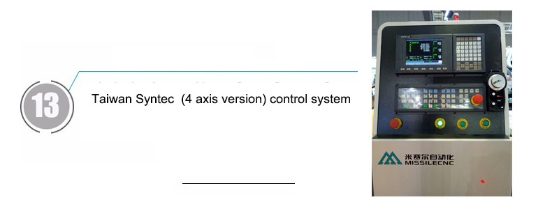 Taiwan Syntec  (4 axis version) control system