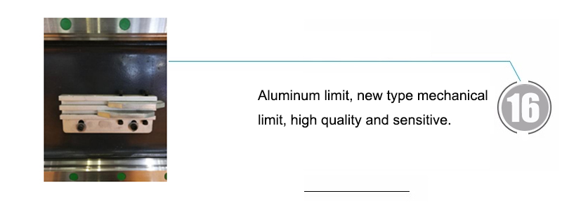 Aluminum limit, new type mechanical limit, high quality and sensitive.