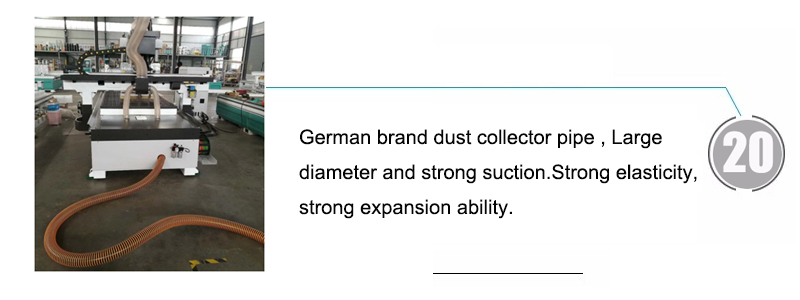 German brand dust collector pipe , Large diameter and strong suction.Strong elasticity, strong expansion ability.