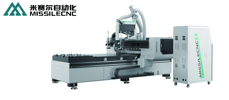 China jinan missile cnc router machining centre nesting machine S9
