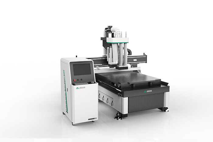 Cheap price double spindle  cnc router with drilling head S6E